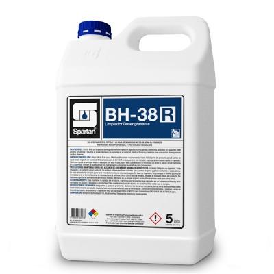 Bh-38 R Desengrasante C/solvente Uso Industrial 5 Litros Diluc. 1:8