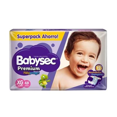 PaÑal Babysec Premium Tanga Xg 48/3 (4927)