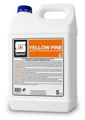 Yellow Pine Detergente Desengrasante Concentrado Ph Neutro Uso General 5lt Diluc: 1:200