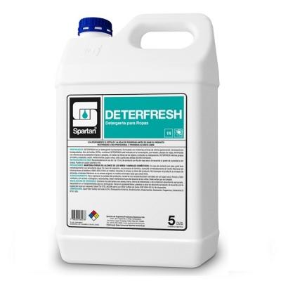 Deterfresh 5 Litros Detergnte Ropa Dil. 3 Al 5%