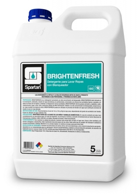 Brightenfresh Detergente Para Ropas Con Blanqueador Óptico 20lt