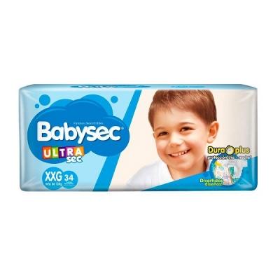 PaÑal Babysec Ultrasec Tanga Xxg 34/4 (4448)