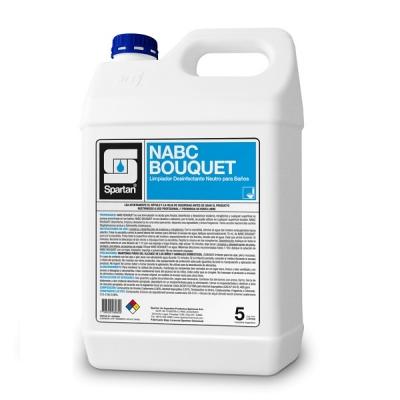 Nabc Bouquet 5 Litros - 3en1 - Amonios Cuaternarios 5ta Generación