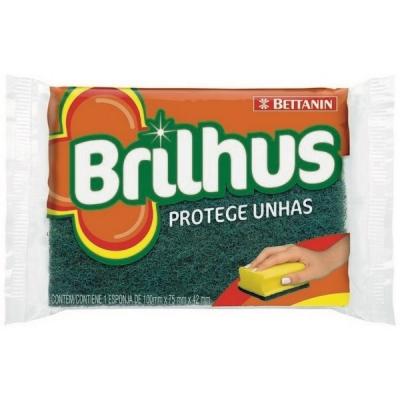 Esponja Brilhus Salva UÑa (bt487)