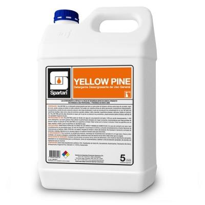 Yellow Pine 5 Litros Detergente Desengrasante Concentrado Ph Neutro Uso General Diluc: 1:200
