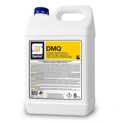 Dmq Desinfectante Hospitalario Superficies Fijas Y Artículos No Críticos 5 Litros