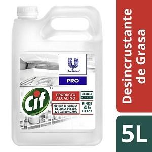 Cif Desincrustante Grasa Carbonizada 5l (7070)