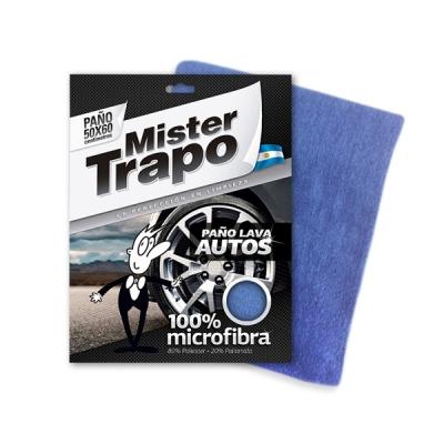 Paño De Microfibra Lava Auto Small Mt 40x40cm