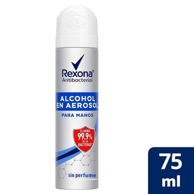 Rexona Aer Alcohol Antibac  X58g/75ml(7478)