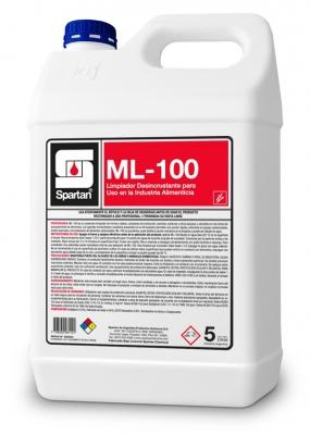 Ml-100 5 Litros Limpiador Desincrustante Alcalino Hornos Y Parrillas (remueve Grasa Carbonizada)