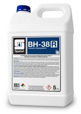 Bh-38 R Desengrasante C/solvente Uso Industrial 5lt Diluc. 1:8
