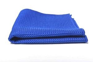 Microfibra Nido Abeja Roy Azul 40x40cm