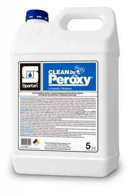 Clean By Peroxy Ecológico Multiuso Base Peróxido De Hidrógeno 5lt Diluc: 1:64
