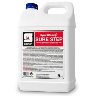Sure Step Detergente Enzimatico Pisos Alimenticia 5 Litros