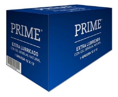 Prime Extralubricado 144 X1 C/estuche