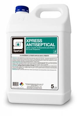 Xpress Gel Sanitizer Antibacterial Con Chlorynelol 5lts