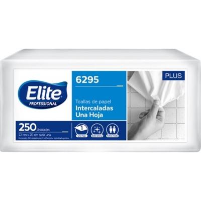 Toalla Elite Int 2p Sh Bco Plus 250x12 (6295)