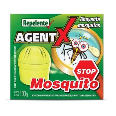 Agentx Mosquito Stop Sistema Ahuyenta Mosquitos X100g