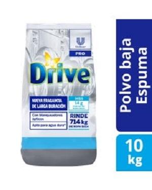 Drive Polvo Baja Espuma Unipro 10kg(8778)