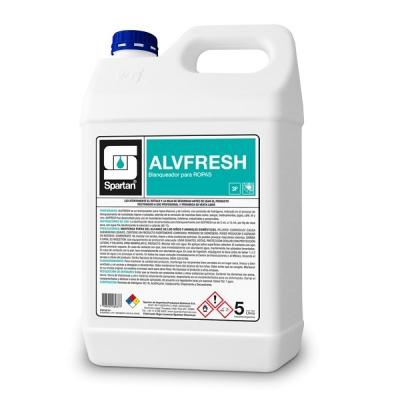 Alvfresh Blanqueador Para Ropas A Base De Peróxido De Hidrógeno 20lt