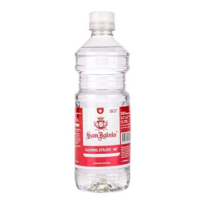 Alcohol Etilico 96% San Iginio 500cc