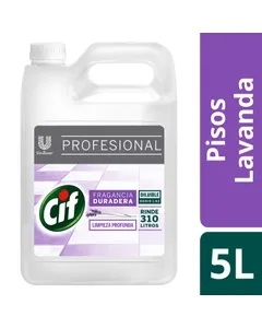 Cif Limp Pisos Liq Prof Lavanda  X5l (4510)