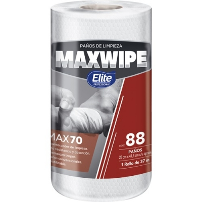 Maxwipe Multiuso Np Rollo 88 PaÑos (6286)