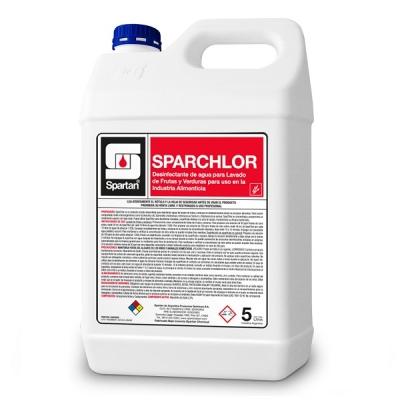 Sparchlor 5 Litros Desinfectante De Agua Lavado Frutas Y Verduras 5lt Rend.: 1:250
