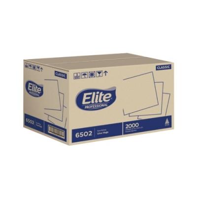 Servilleta Elite 24 Bco Classic 2h X2000 Usos(6502)