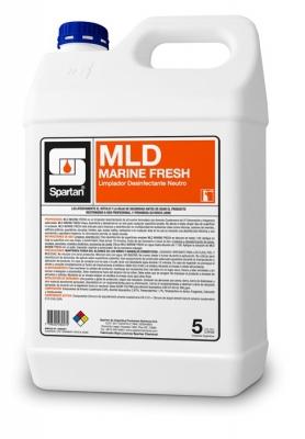 Mld Marine 1 Litro Cuat. 5° Generacion 3 En 1 Desinf/deterg/desod Concent Ph Neutro Rend: 200 Litros