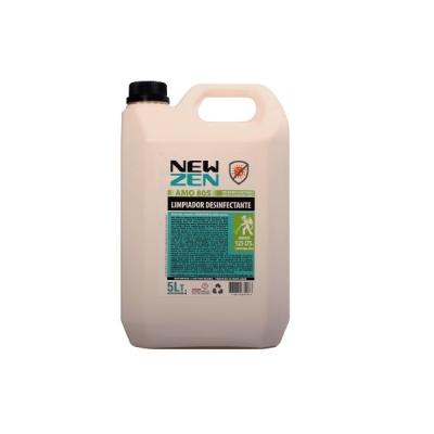 Limpiador Desinfectante Amo 805 - Amonio Cuaternario 5% - (1 Litro - R 25 Lt) - 5lts