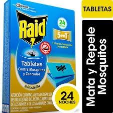 Tableta Raid Mosq. 24un.
