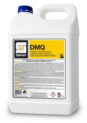 Dmq Desinfectante Hospitalario Superficies Fijas Y Artículos No Críticos 5lt