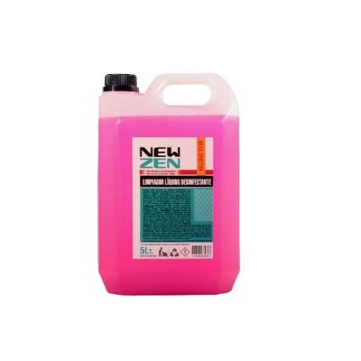 Limpimpiador Desinfectante Kill Bac - V 100 - Amonio Cuaternario 1,6% X 5 Lts