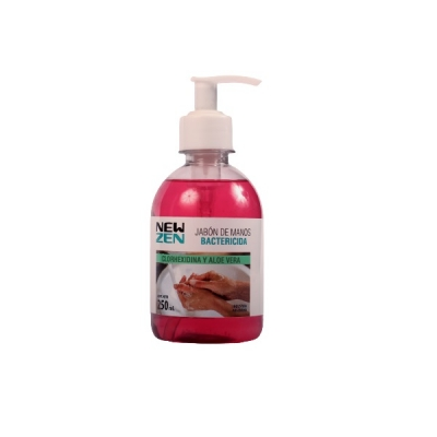 Jabon Liquido Manos Newsen Bactericida Con Aloe Vera C /valvula 250ml