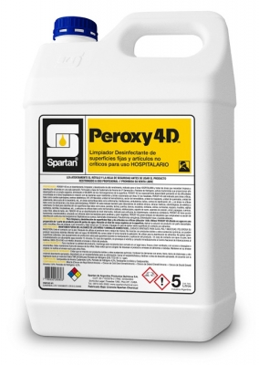 Peroxy 4d Desinf. Hospitalario Concent. 5lts