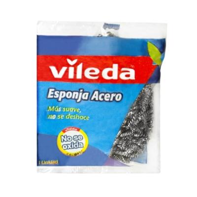 Esponja Acero Vileda 15gs