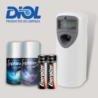 Disp Aromat Digital Promo Cps + 2 Pilas + 2 Rep